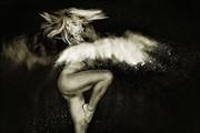Flour Girl   III Artistic Nude Photo by Photographer Don McCrae