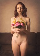 Flower girl Artistic Nude Photo by Photographer Fischer Fine Art