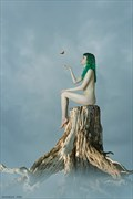 Fly Away Home Artistic Nude Artwork by Photographer Thornback