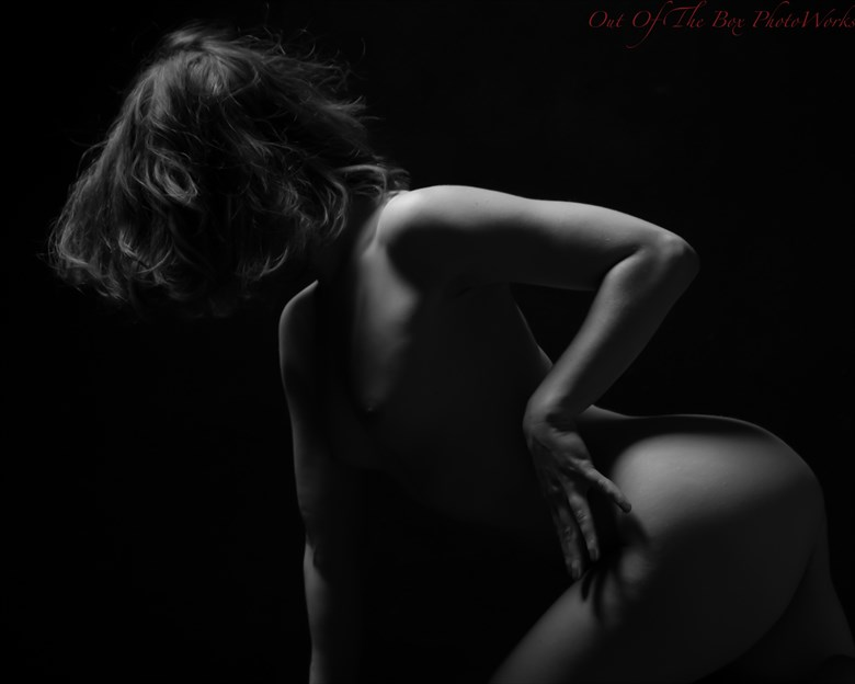 Follow the Lines Artistic Nude Artwork by Photographer Miller Box Photo