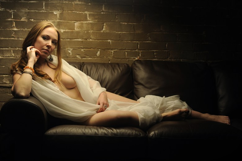 For today we shall recline Artistic Nude Artwork by Model AnudeMuse
