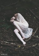 Forest Abstract Photo by Model Luna Nera