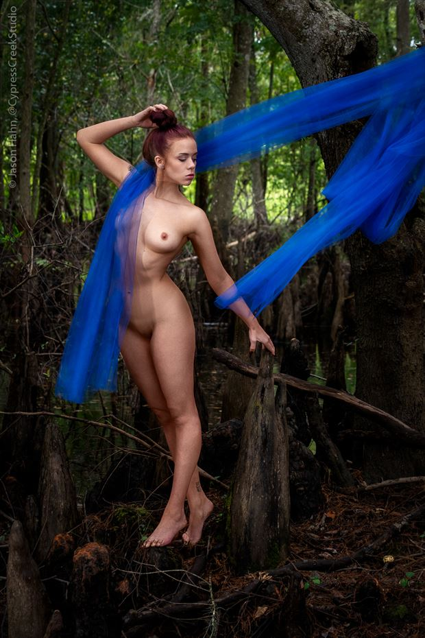 Forest Dancer Artistic Nude Photo by Photographer Jason Hahn
