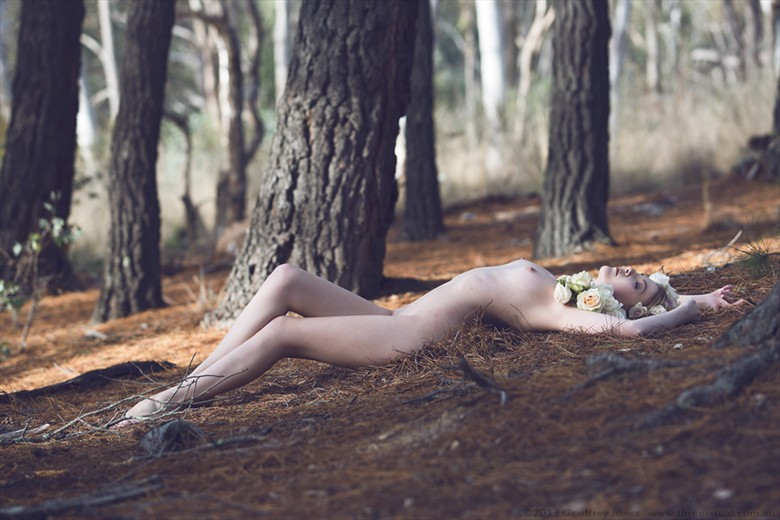 Forest Nymph Artistic Nude Photo by Model Sylph Sia