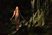 Forest Nymph Artistic Nude Photo by Photographer Stephen Wong