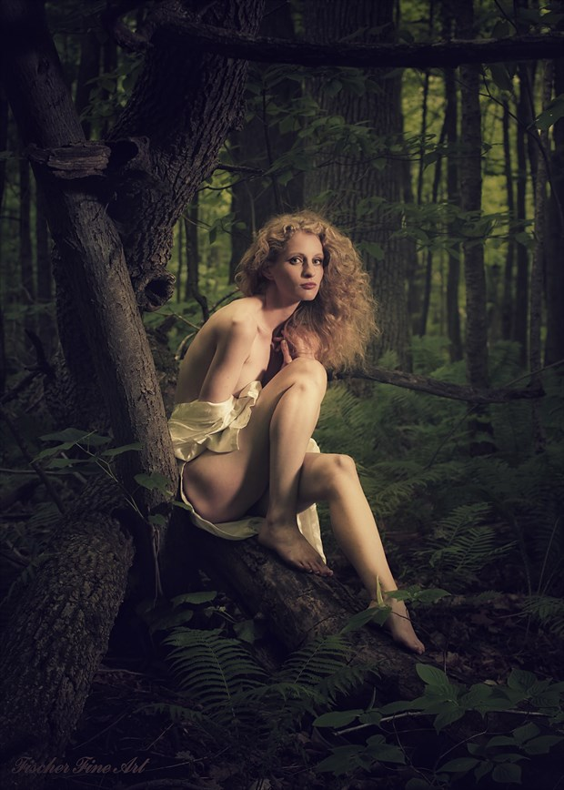 Forest Nymph Nature Photo by Photographer Fischer Fine Art