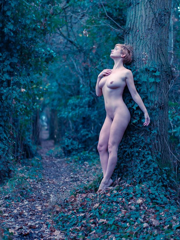 Forest Path Artistic Nude Photo by Photographer Ceri Vale