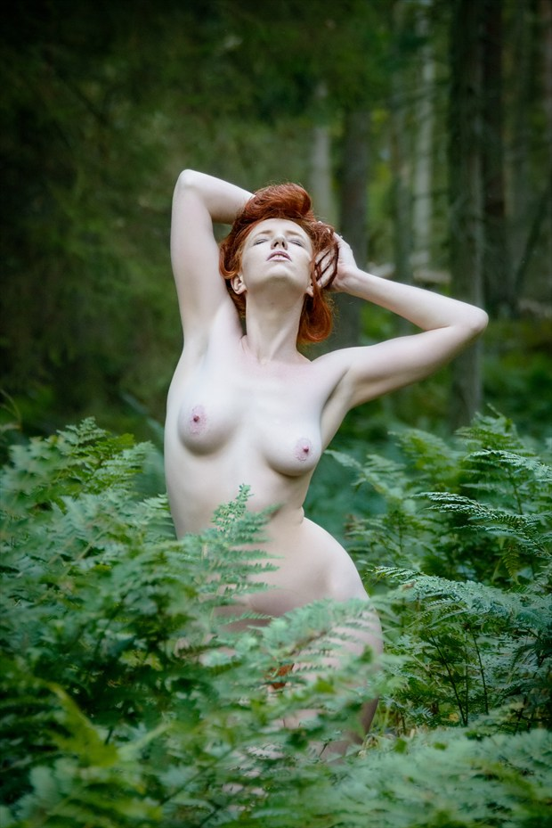 Forest Red Artistic Nude Photo by Photographer Rascallyfox