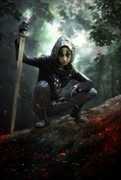 Forest Warrior Fantasy Artwork by Photographer gracefullywicked