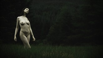 Forest dark Artistic Nude Photo by Photographer gdelargy photography