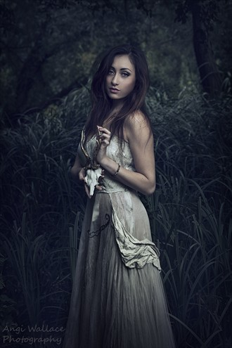 Forest girl Nature Photo by Photographer AngiW