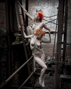 Fortress Series Artistic Nude Artwork by Photographer Liquidcanvas Studios