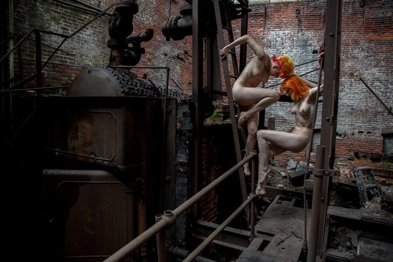 Fortress Series III Artistic Nude Photo by Photographer Liquidcanvas Studios