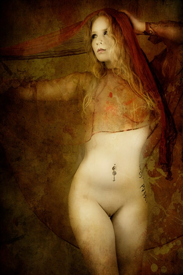 Fortune Teller Artistic Nude Photo by Model JenovaxLilith
