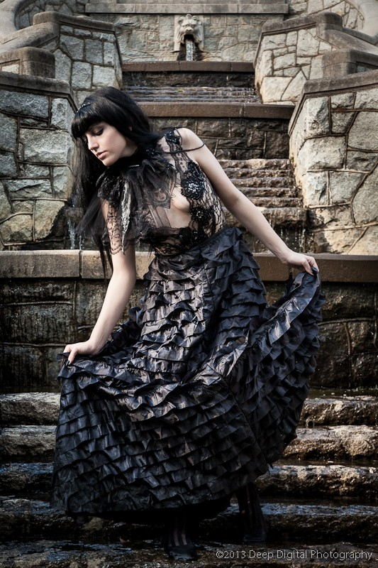 Fountain Dancer Alternative Model Photo by Photographer Deep Digital