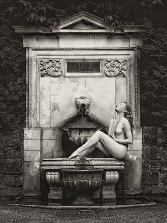 Fountain Wish Artistic Nude Photo by Photographer Karen Jones