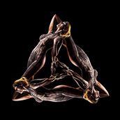 Fractal Figure 5 Artistic Nude Photo by Photographer Under Black Light