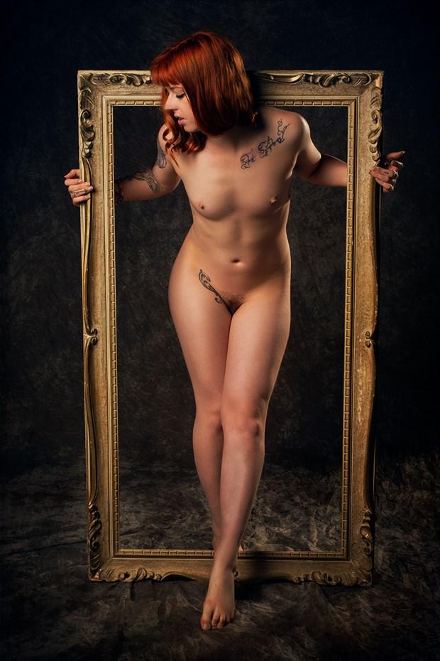 Framed Artistic Nude Photo by Photographer Fischer Fine Art