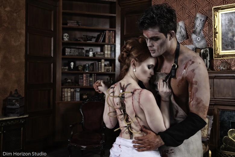 Frankenstein  Fantasy Photo by Model AtenaMy