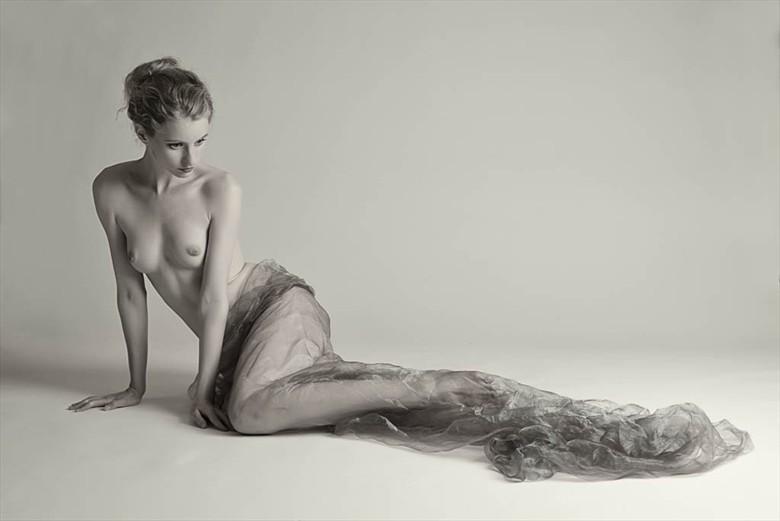 Fredau and Organza Artistic Nude Photo by Photographer Rascallyfox