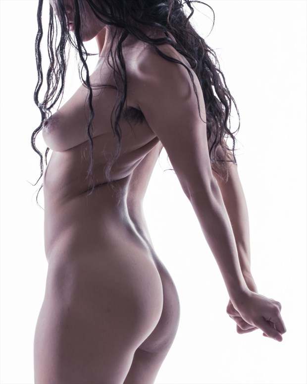 Freya Gallows Artistic Nude Photo by Photographer Andrew Harewood