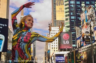 Fun at the Metropolitan Body Painting Photo by Photographer udor