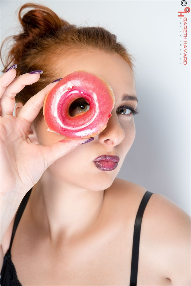 Fun with Food Lingerie Photo by Photographer Gareth Havard