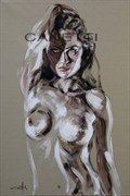 G. Artistic Nude Artwork by Artist Michel Canetti
