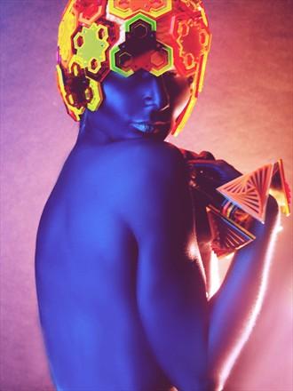 GLASSbook magazine Surreal Photo by Model alissa