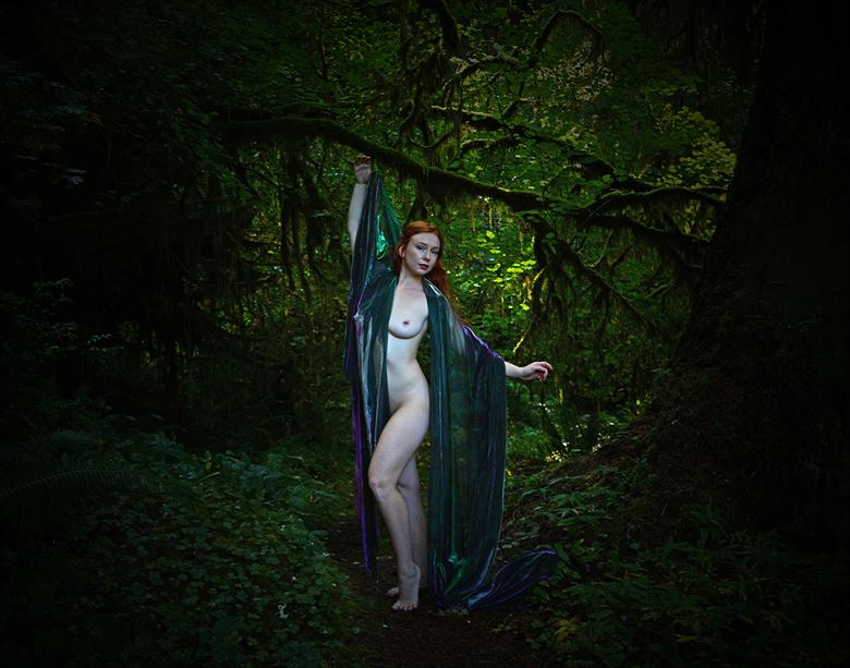 GROWING NEW WINGS. Artistic Nude Photo by Photographer Rare Earth Gallery