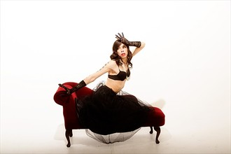 Gaga Lady Surreal Photo by Model Cocaine James