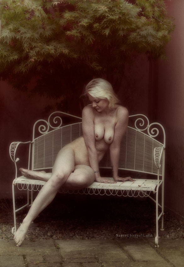 Garden Nymph Artistic Nude Photo by Model Samantha Jay