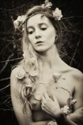 Garland Artistic Nude Photo by Photographer Karen Jones