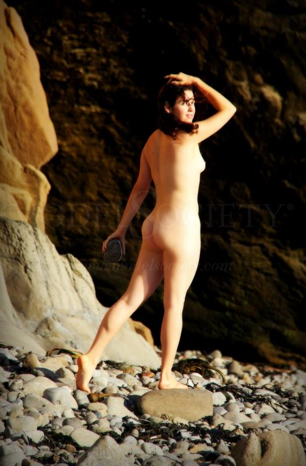 Gathering stones Artistic Nude Photo by Artist AnneDeLion