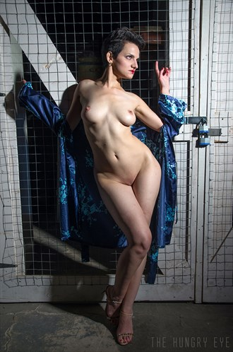 Geisha Artistic Nude Artwork by Model Diana Revo
