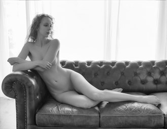 Gemma on the Couch Artistic Nude Photo by Photographer John Logan