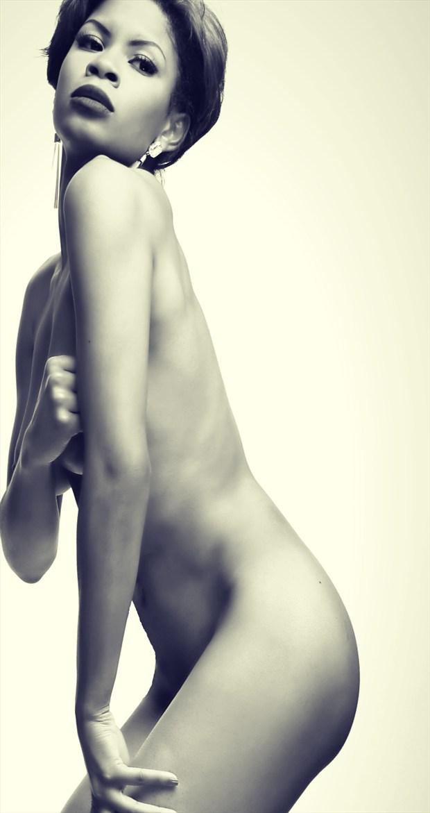 Gemstone Artistic Nude Artwork by Model Ms Muse