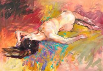 Genevieve 2 Artistic Nude Artwork by Artist Rod