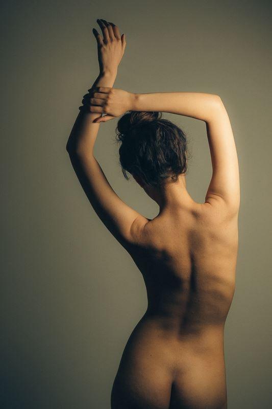Gentle Artistic Nude Artwork by Model Mia Liberum