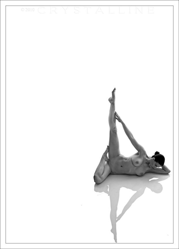 Geometry Artistic Nude Photo by Model Mila