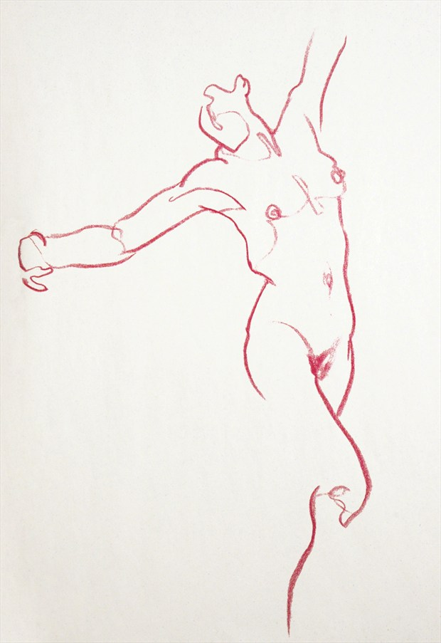 Gesture %232 Painting or Drawing Artwork by Artist FrontStreetFigureDrawing