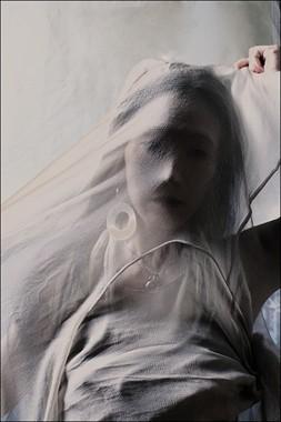 Ghost Erotic Artwork by Model Ree Ja