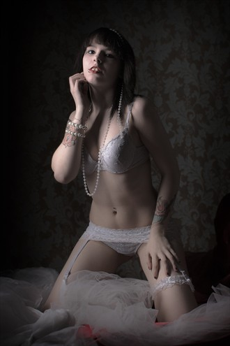 Girl Awaits By The Window Lingerie Photo by Photographer JohnB