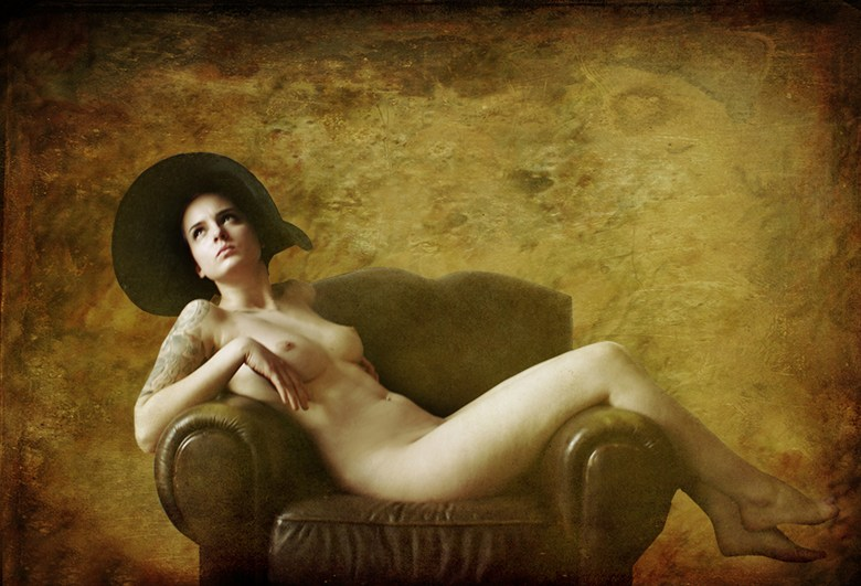 Girl In a Chair Artistic Nude Photo by Photographer Thomas Dodd