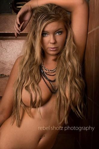 Girl in a bathroom Erotic Photo by Model Jessica Ann