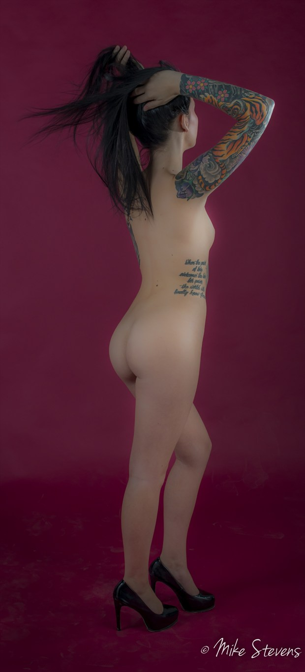 Girls with Ink Glamour Photo by Photographer Mike Stevens