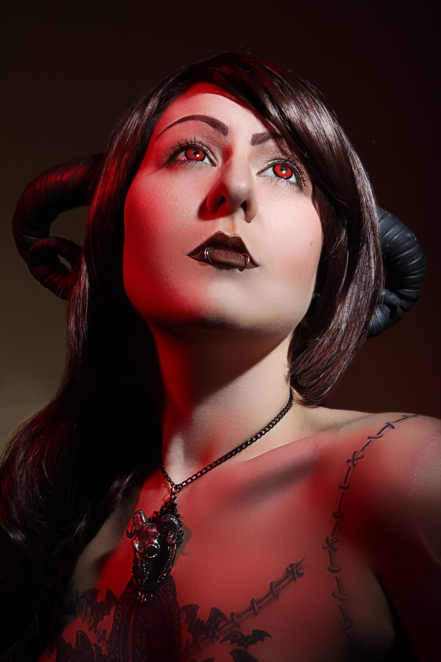 Glamour Alternative Model Photo by Model Hex Hypoxia