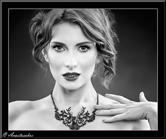 Glamour Close Up Photo by Model Cat Ropo