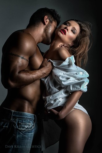 Glamour Couples Photo by Model James Xavier