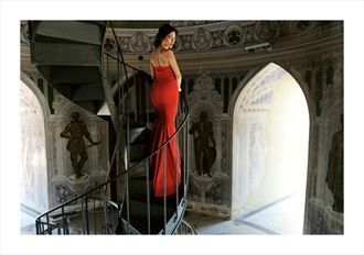 Glamour Fashion Photo by Model Alessandra Giulia